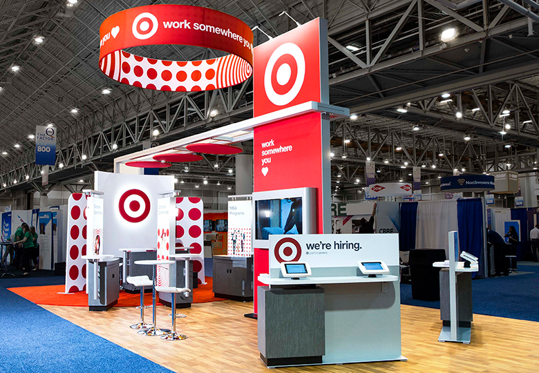 Target Exhibit Design, Modular exhibit, Display Arts